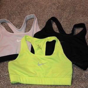 Nike Sports Bra Bundle of 3